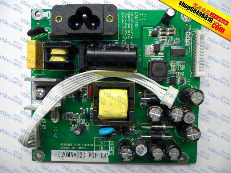 Free Shipping> realm M2389A LED power supply board boost board PL63893 900-01-00075-Original 100% Tested Working