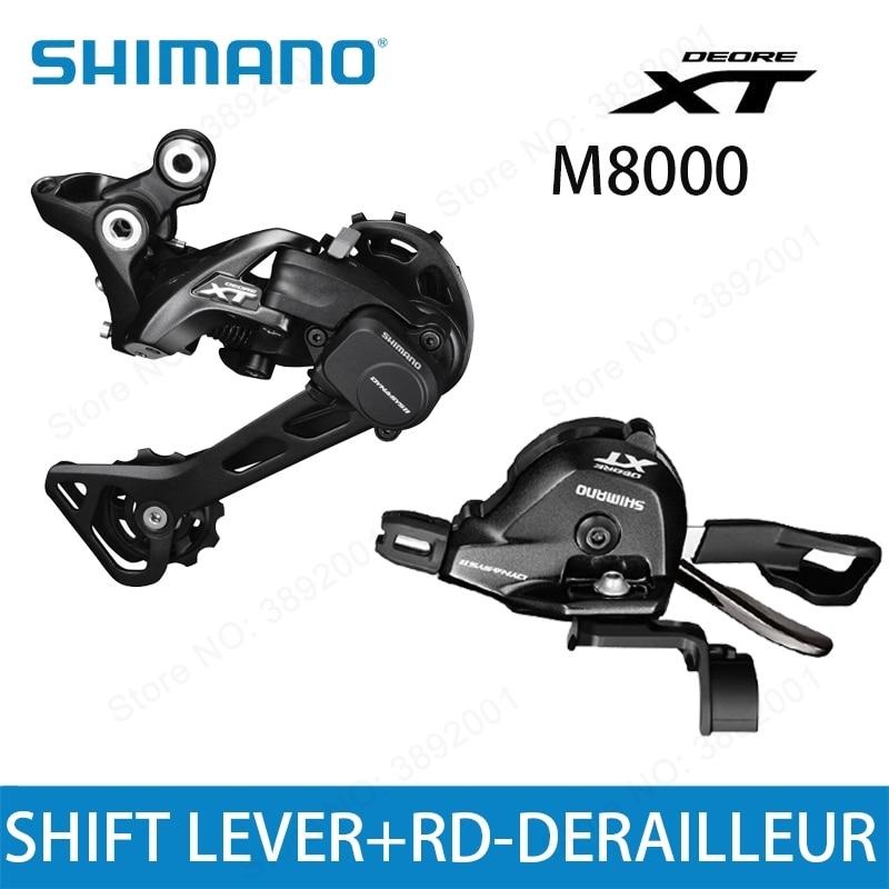 SHIMANO DEORE XT M8000 Groupset SL M8000 SHIFT LEVER RD M8000 REAR DERAILLEUR MTB 11 SPEED