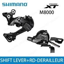 SHIMANO DEORE XT M8000 список групп SL M8000 рычаг переключения + RD M8000 задний переключатель передач для горных велосипедов 11-скорость M8000 SL + RD GS SGS