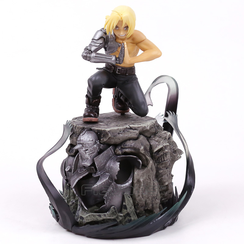 все цены на Fullmetal Alchemist Edward Elric Limited Edition 1/8 Scale Pre-Painted Figure Collectible Model Toy 21cm 2 Styles в интернете