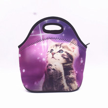 Thermal Insulated Print Neoprene Lunch Bag