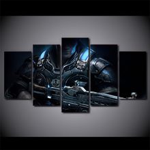 Framed 5 Pieces/set Movie Poster Series Wall Art For Decor Home Decoration Picture Paint on Canvas Wholesale/FREE ART