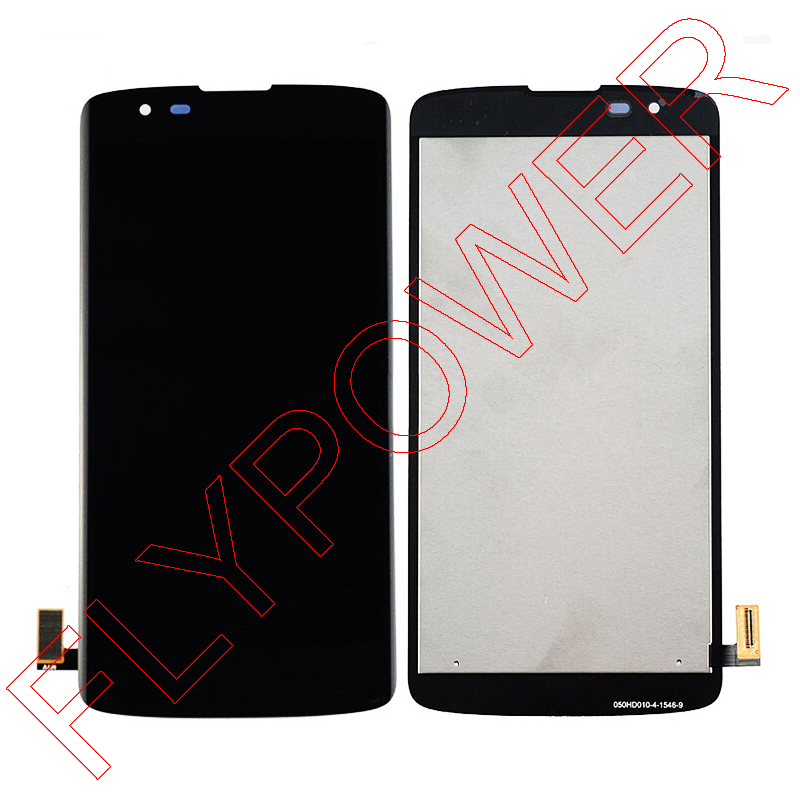 High quality For LG K8 LTE K350N K350E K350DS Lcd display with touch screen digitizer assembly in Black and White free shipping