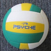 89d344e1da Meninos adultos Tamanho 5 Jogo de Bola De Treinamento De Voleibol Macio  Engrossado PVC Vôlei Lenwave Marca Interior competição B..