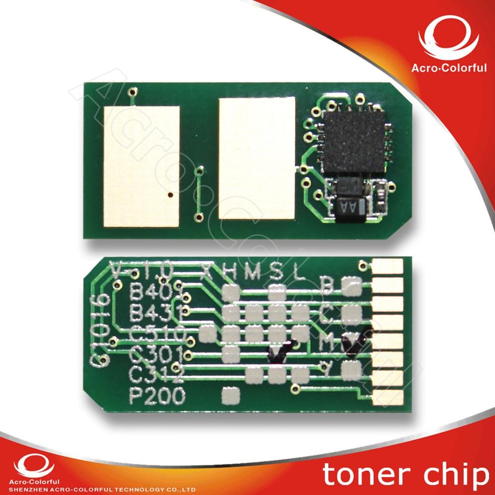 Toner cartridge reset chip for oki c301 Japan version compatible toner chip toner cartridge for oki 01279001 with chip for oki b710n 710dn 720n 720dn 730n 730dn