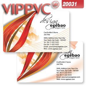 Pvc Blanc En Plastique 038mm Couleur Double Face Impression De Bonne Qualit Carte Visite A2031