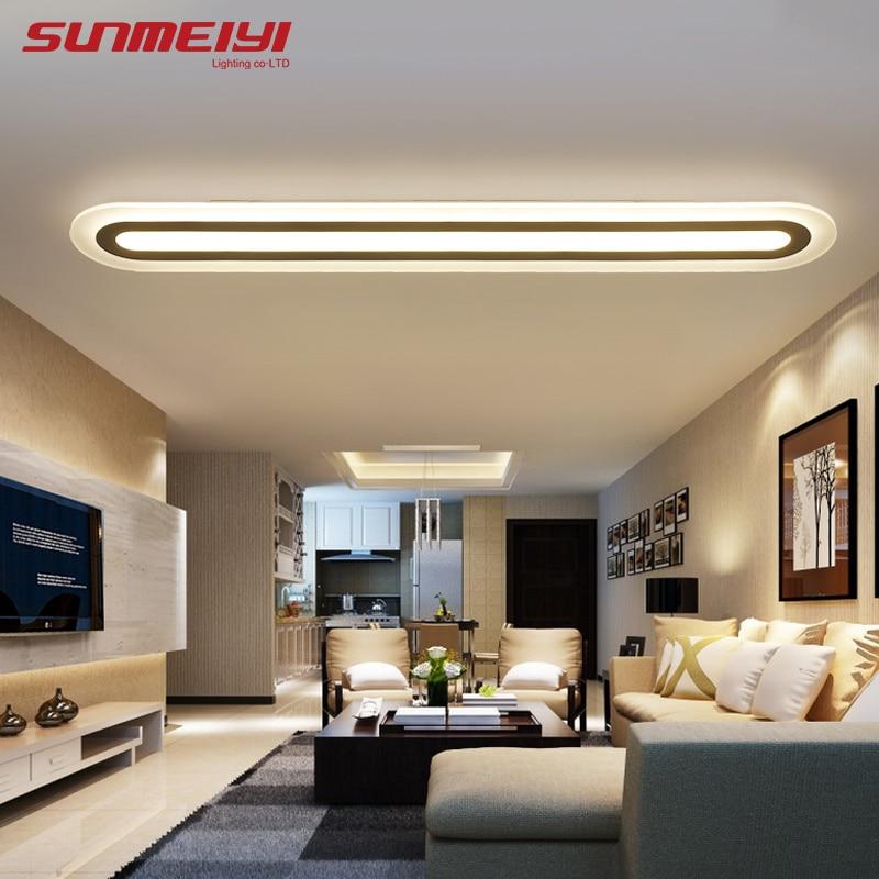Plafond moderne à leds Lumières AC 90 V-260 V lamparas de techo luminaire led Pour salon Enfants Chambre décoration de plafond