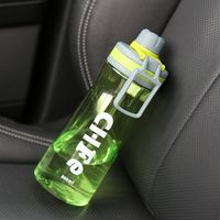 800ml Outdoor My Water Bottle Plastic Shaker High Capacity Whey Protein Camping Sport Drinking Que Bottle