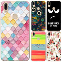 New Arrival Phone Case For Vivo V9 / Vivo Y85 6.3-inch Fashion Design Art Painted TPU Soft Silicone Skin Back Cover Shell(China)