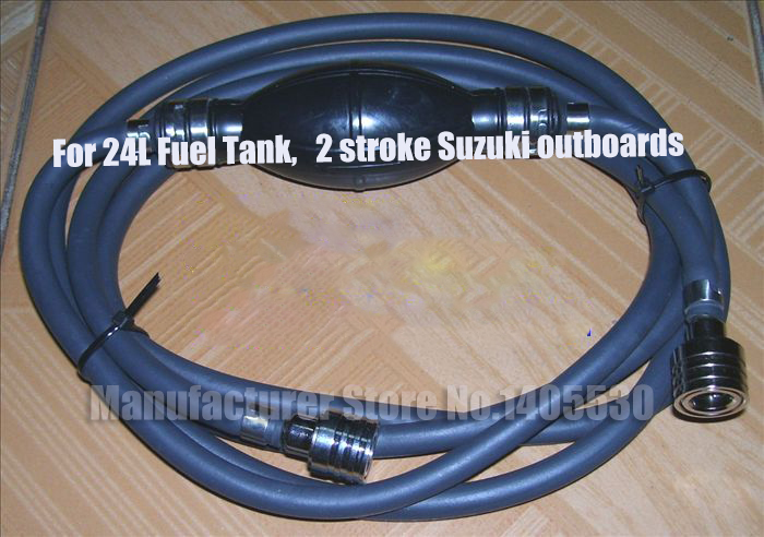Hidea Outboard Engine Fuel Line Assembly Yamaha Fuel Line /& Bulb XS10
