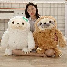 цена на Simulation Sloth Baby Doll Lifelike Sloth Plush Toys Stuffed Dolls Kids Toys Lovely Doll Girlfriend Best Gifts Brinquedos