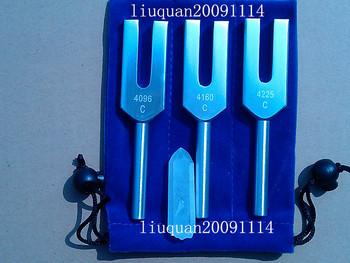 John Schomburg Seoul 3pcs tuning fork set 4096 Hz 4160 Hz 4225 Hz, Sleep Regulation free shipping