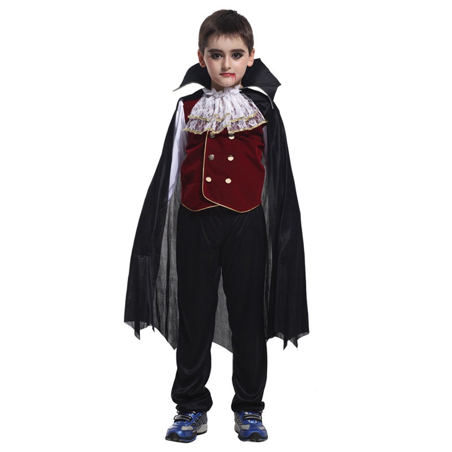 MOONIGHT 3 Pcs New Arrival Children's Halloween Role Play The Hero The New Boy Kids Costumes Halloween Cosplay Costume
