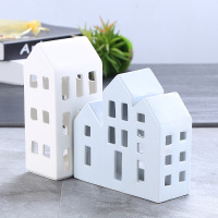 Nordic Decoration Home House Figurines Ceramic Home Decor Office Desktop Table ElimElim