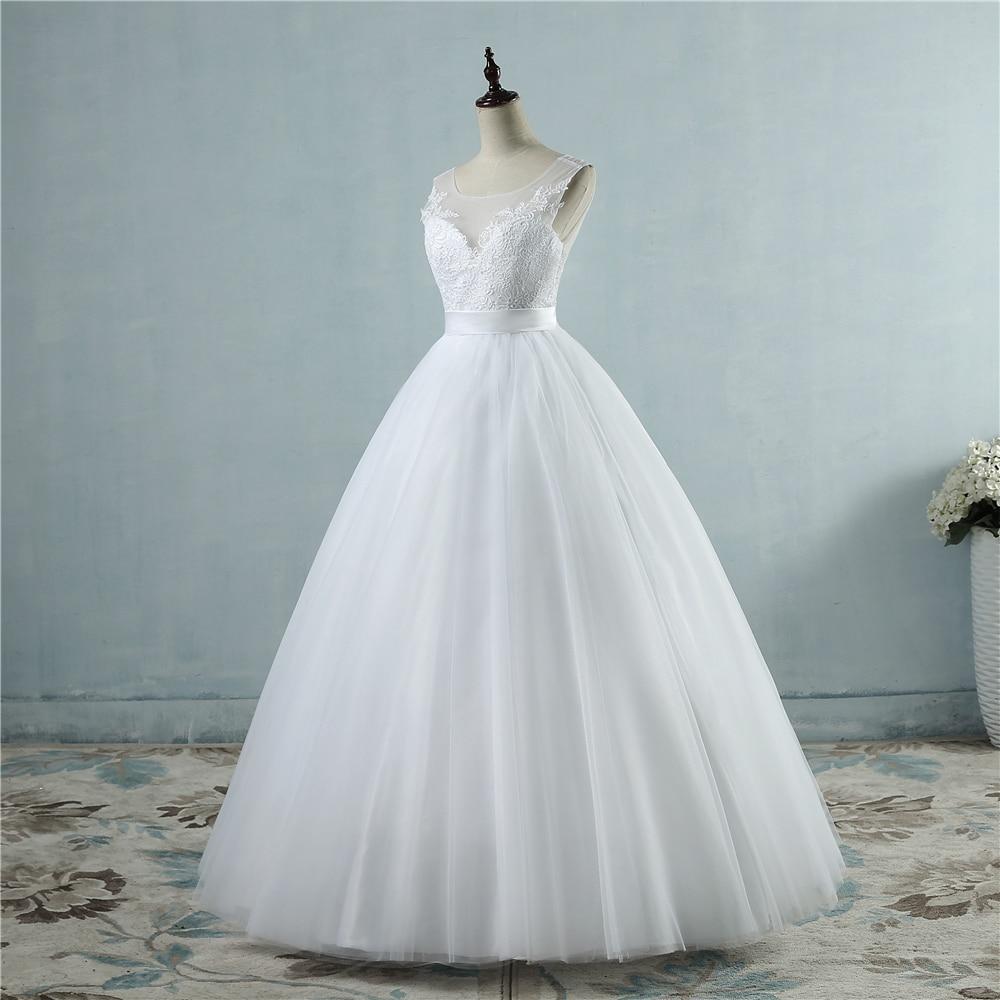 ZJ9042 Ζεστό πώλησης Chiffon Beach Γάμος - Γαμήλια φορέματα - Φωτογραφία 2