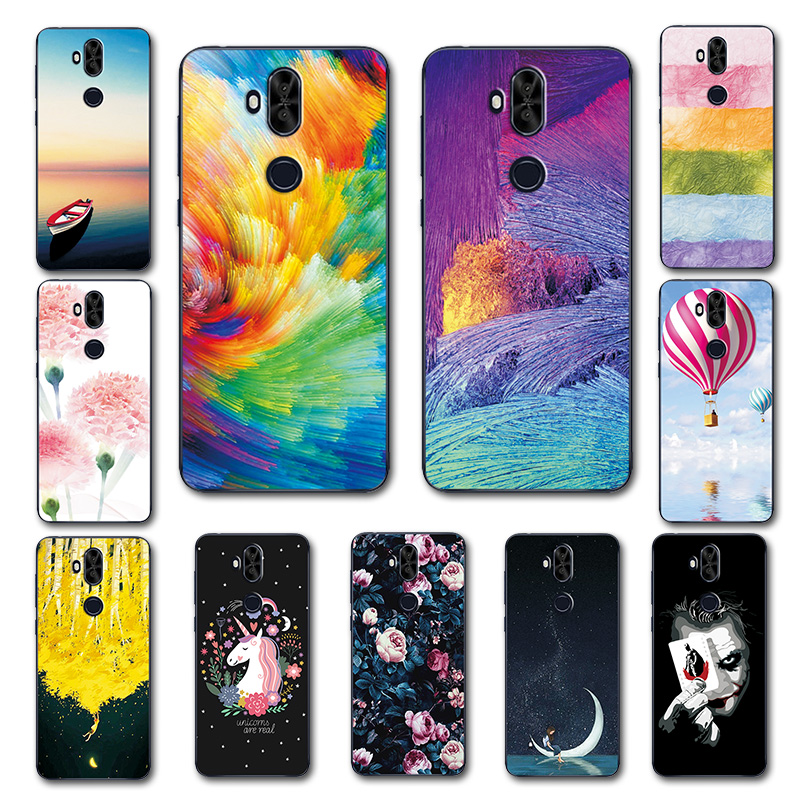 Cute Art Cases Coque For Asus Zenfone 5 Lite ZC600KL Flower Soft  Novelty Phone Shell For Zenfone 5Q ZC600KL Back Cover Fundas