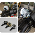 New Universal Chrome Motorcycle Clock Waterproof Handlebar Mount Watch