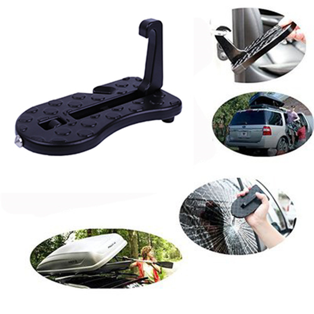 Multifunction Foldable Car Door Hook Pedals Vehicle Rooftop Roof Rack Assistance Door Step Ladder Auto Slam Latch Doorstep #20 Elegant And Sturdy Package Atv,rv,boat & Other Vehicle Electric Vehicle Parts