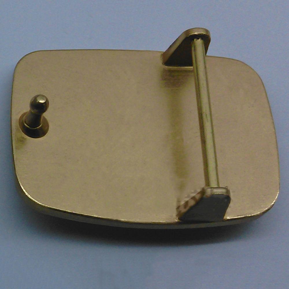 FAJARINA Men's Design 3D Cattle Animal Pattern Slide Styles Buckles Solid Brass Belt Buckle Only for 3.6-3.9cm Wide Belts BCK004
