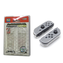 NS New Anti-scratch Detachable Transparent Crystal Protective Case Skin Cover Utral Slim for Nintend Switch Joy-con Controller