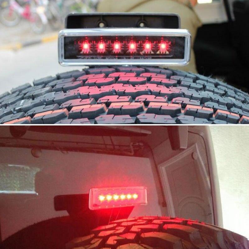 Барбекю@ФУКА 1шт замены автомобиля авто светодиодные тормозные свет лампы, пригодный для Wrangler 2007-2015 JK виллиса