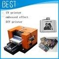Бесплатный shiiping! 2015 новый A3 УФ принтер, сотовый телефон случае/пластиковые карты/визитная карточка печатная машина, уф планшетный принтер