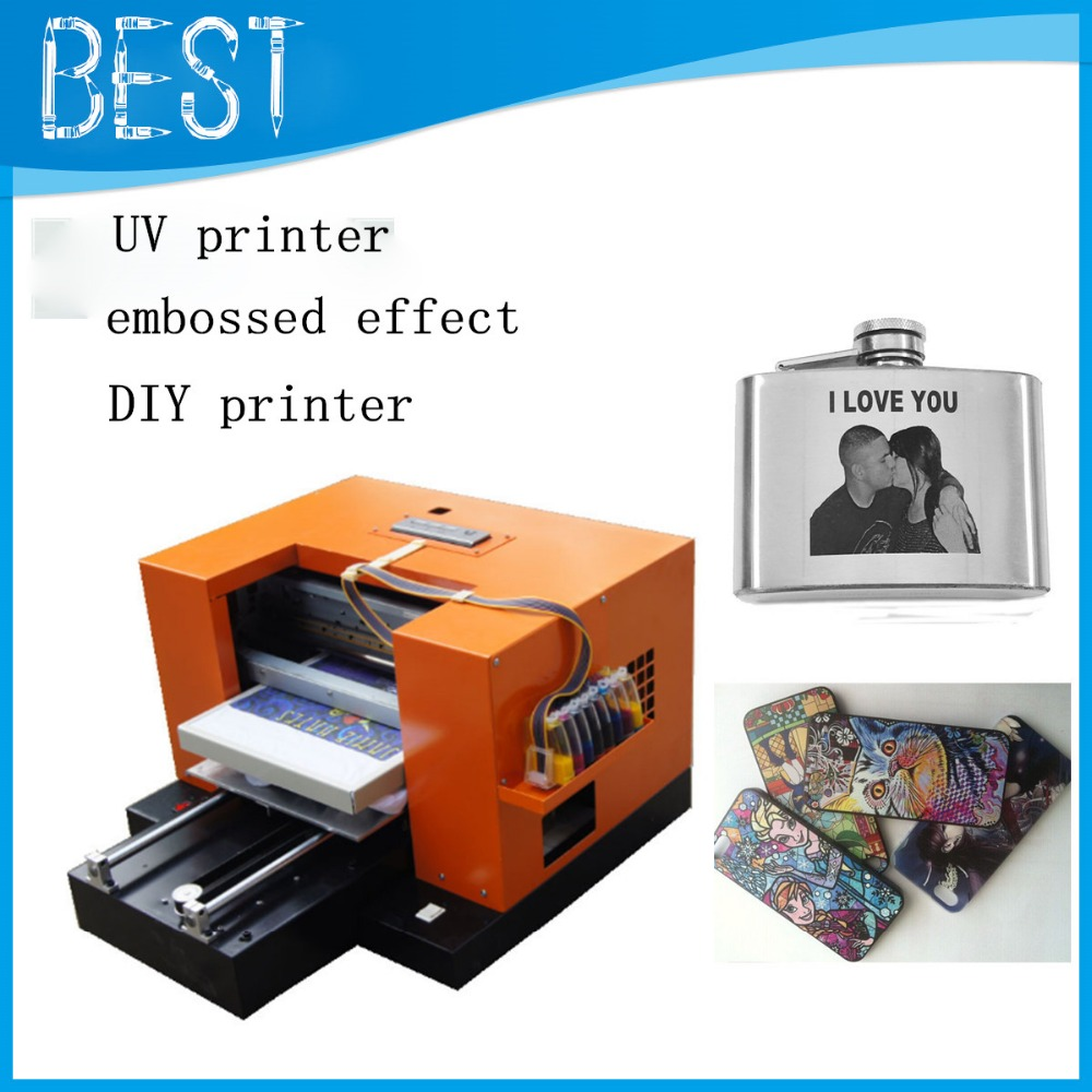 free shiiping!!!2015 newest A3 UV printer, cell phone case/plastic ...