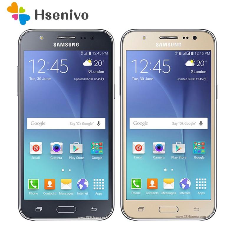 Free Shipping Samsung Galaxy J5 J500F Dual Sim Unlocked Cell Phone 5.0