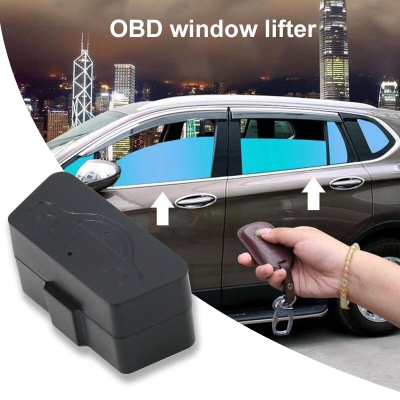 Vehemo OBD АВТОМАТИЧЕСКИЙ доводчик стекол автомобиля подъемное устройство для окон автомобиля Стекло прочный пульт дистанционного управления закрывающий модуль Системы