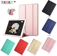 Case for Apple iPad 2/3/4,YRSKV,Silicon,Leather Wake up sleep,Smart Cover. A1460`A1459`A1458`A1416`A1430`A1403`A1395`A1396`A1397 цена