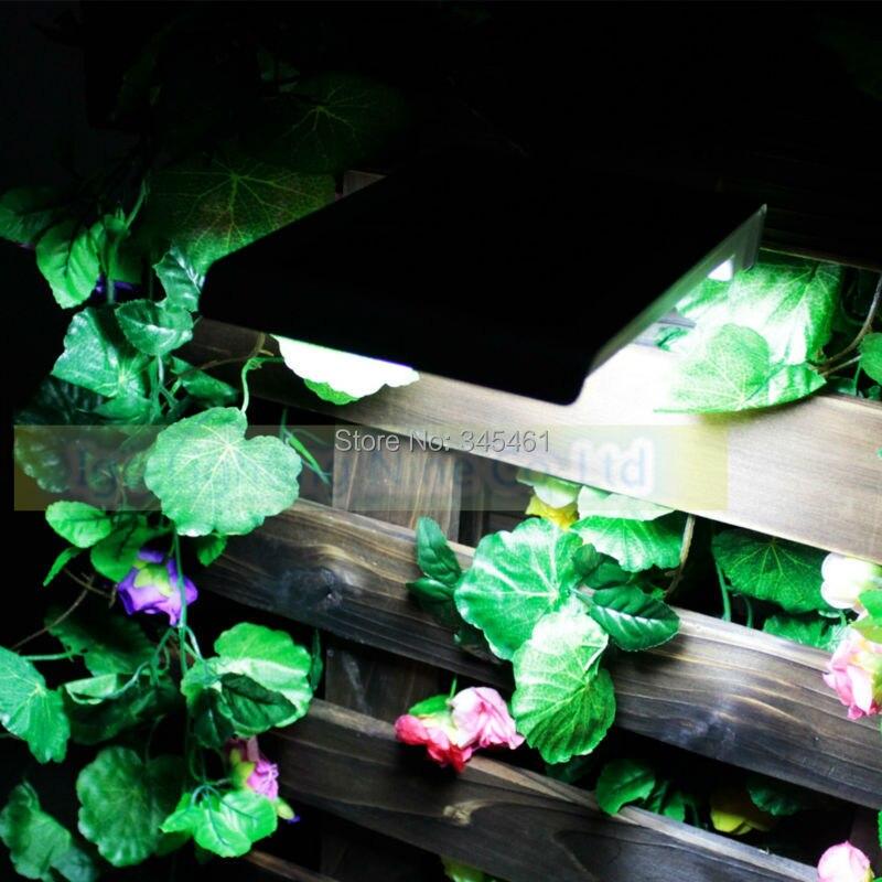 ФОТО New Arrival- Wall Lamps Outdoor Solar Wall Lights PIR Sensor Lamps Durable Emergency Garden/Yard/Doorside/Fence Led Solar Lights