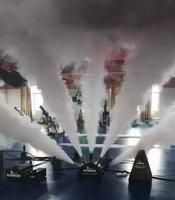 2016 tiptop Новое поступление пять пальцев co2 пушки мощная 500 Вт co2 Jet крио DMX Управление фантазии co2 ткацкий станок привет качество