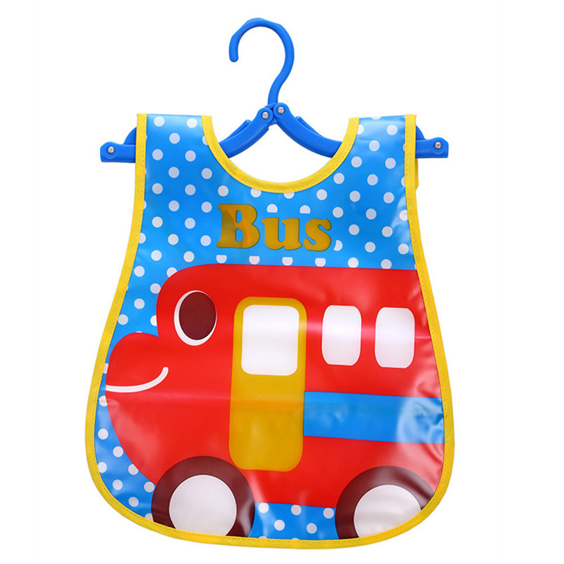 Adjustable Baby Bibs EVA Plastic Waterproof Lunch Feeding Bibs Baby Cartoon Feeding Cloth Children Baby Apron Babador de bebe (21)