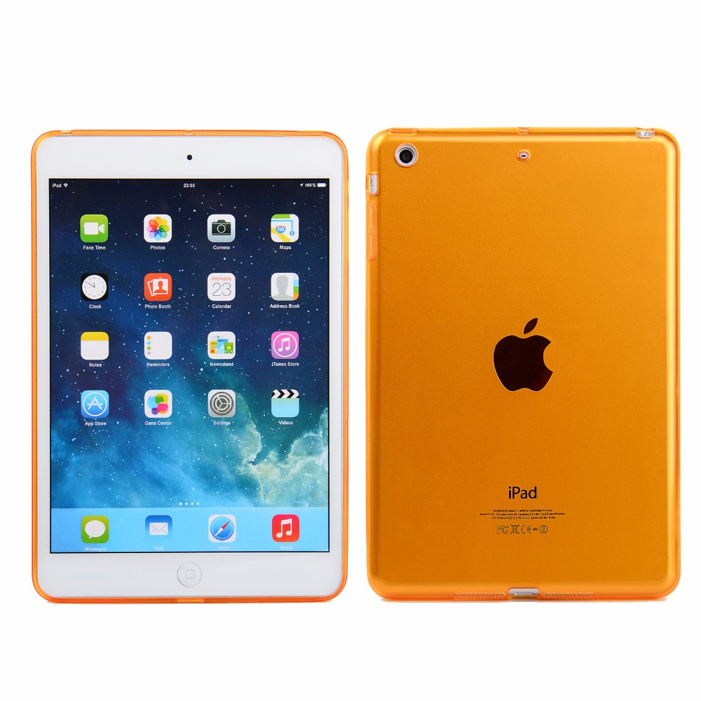 Crystal Case Cover For Apple Ipad 12.9 Soft Gel TPU Silicone Case Cover For Ipad Pro 12.9 Protective Skin Shell Case