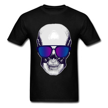 3D Printed T-shirts Breezy Skull Summer/Fall Sweatshirt Youth Man T Shirts 100% Cotton Fabric Short Sleeve for Men