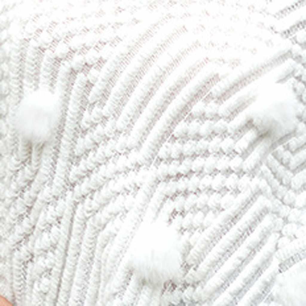 Çekme kazak hırka bayan kadın v yaka katı Hairball püskül vahşi kazak ceket gevşek örme şal panço kadınlar