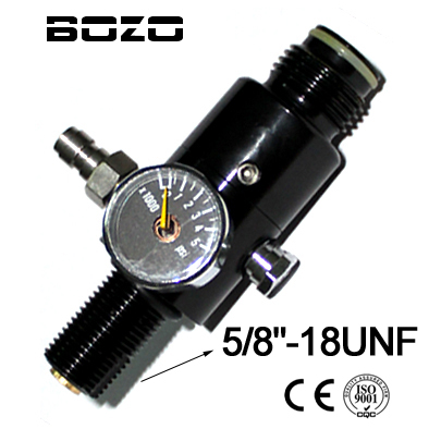 "paintball co2 kartuša 4500PSI regulator rezervoarja za stisnjen zrak izhodni tlak (1800PSI) 5/8 ""-18UNF"