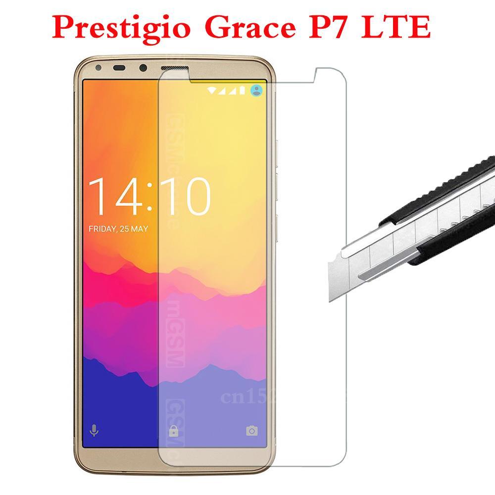 Smartphone Tempered Glass for Prestigio Grace P7 LTE Explosion-proof Protective Film Screen Protector cover