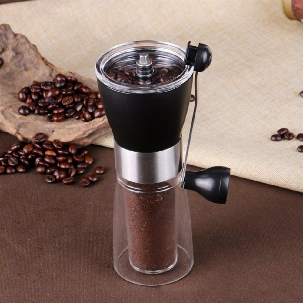 Hand Grinder Manual Coffee Grinder Plastic Coffee Machine Hand Coffee Bean Grinder Ceramic Grinding Core Washable Grinder