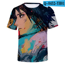 Hot Selling Short Sleeve T-shirt For Men/Women Naruto Anime 3d Printing Sasuke Kakashi Sakura Fashion Tops Boy girl