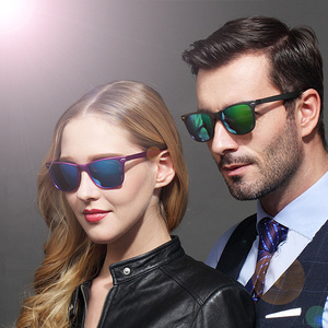Image 2 - Classic Aluminium Magnesium Polarized Sunglasses men women luxury river design vintage Driving Eyewears sun glasses gafas oculos