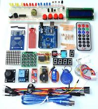 Atualizado versão avançada starter kit o rfid aprender suíte kit lcd 1602 para uno r3