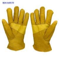 Guantes de seguridad de invierno para hombre, guantes de trabajo resistentes al viento, guantes de seguridad para hombre y mujer 4024