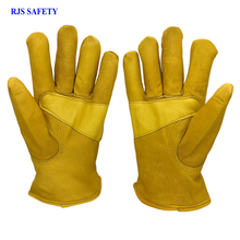 RJS SAFETY Winter Warm Gloves Man's Work Driver Windproof Security Protection Wear Safety Working Ski For Man Woman Gloves 4024