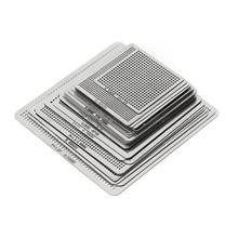 27 шт. BGA трафареты универсальные с прямым подогревом трафареты для SMT SMD чип Rpair Au11 Прямая поставка