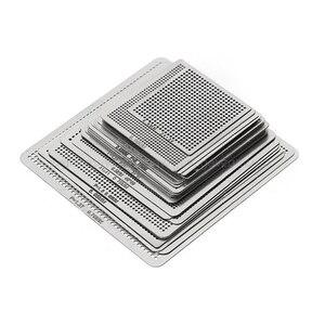 Image 2 - 27/33/36/130 adet BGA şablonlar evrensel doğrudan ısıtmalı şablonlar SMT SMD Chip tamir Au11 dropship
