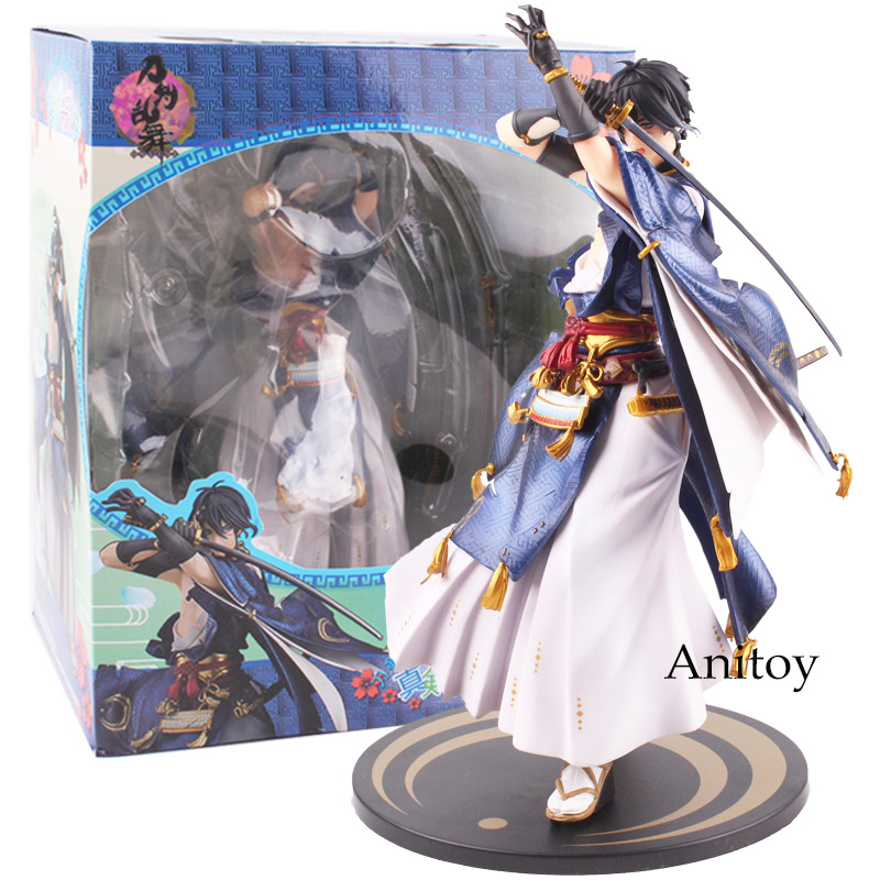 Touken Ranbu Online Game Action Figure Mikazuki Munechika Awakened PVC Figures Collectible Model Toy 22cm KT4825 original box touken ranbu online mikazuki munechika q version 10cm nendoroid pvc action figures collectible model toys