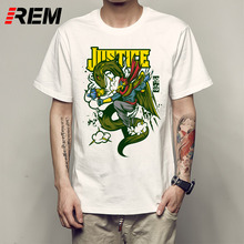 93656667 REM T Shirt Men for Superhero Thor Raytheon Funny Anime O-Neck Printed  Pattern Short