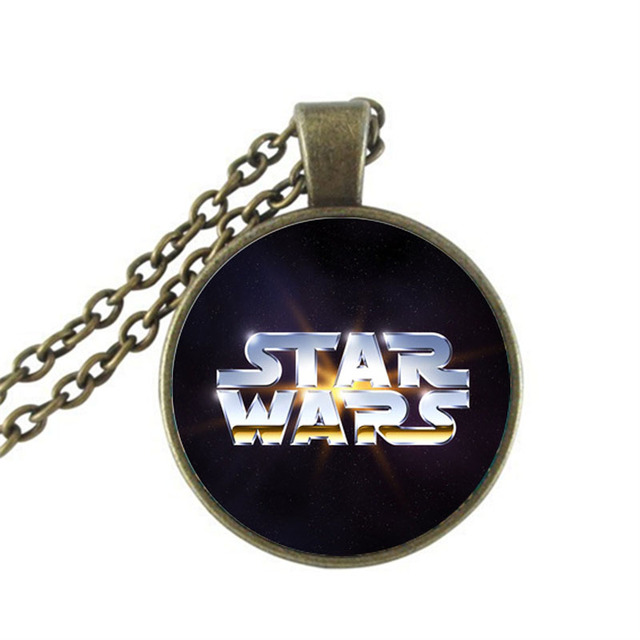 Star Wars Pendant Necklace  Vintage Women