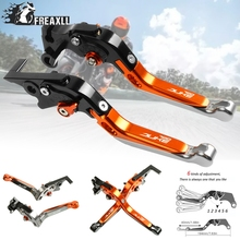 цена на 2018-2019 For KTM duke 790 DUKE Adjustable Extendable Folding Aluminum Motorcycle Accessories Brake Clutch Levers Handle Grips